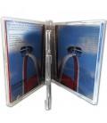 Boitier CD standard double CD ouvert