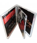 Boitier CD standard double pressage cd double CD ouvert