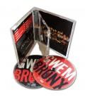 Boitier CD standard double pressage cd double CD interieur