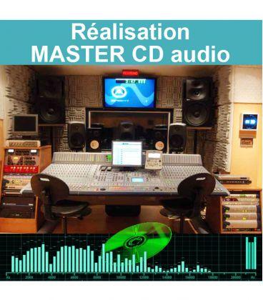 Réalisation du master audio de pressage