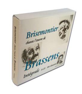 Coffret toute l'oeuvre de Brassens
