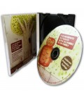 Boitier CD slimbox ultra mince - ouverte