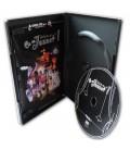 Boitier DVD standard boitier dvd noir ouvert