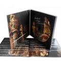 Digipack 2 volets format CD plateau noir livret